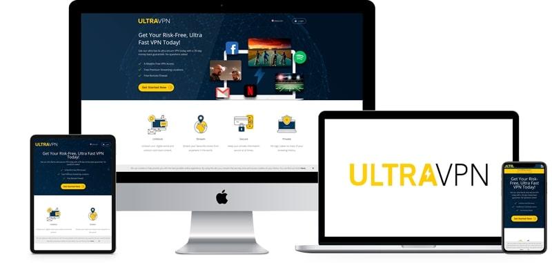 UltraVPN for hiding your IP