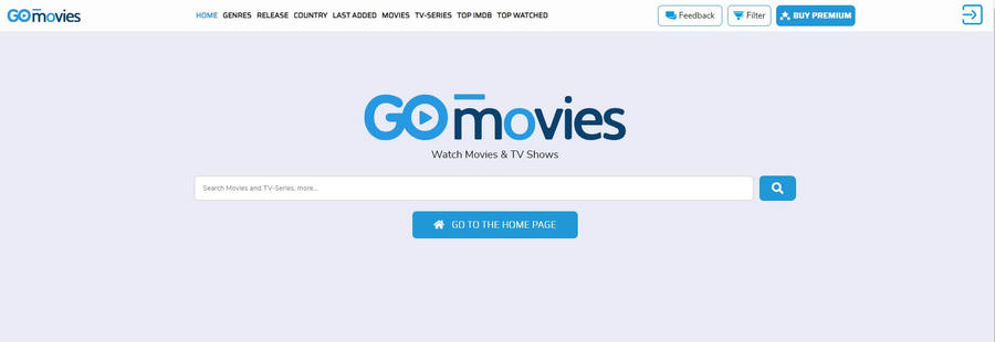 Putlocker Alternatives - GoMovies