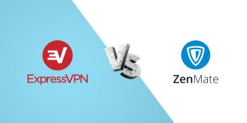 ExpressVPN vs Zenmate