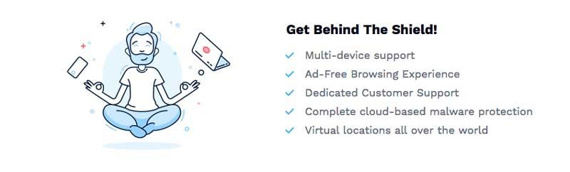 Hotspot shield VPN Features