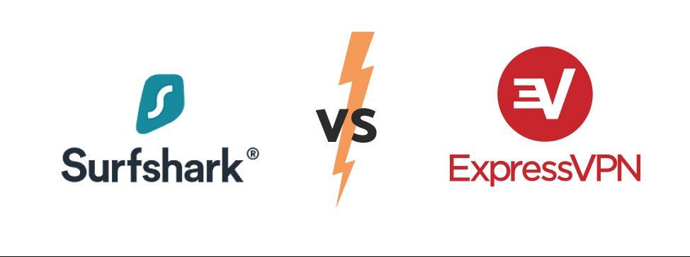 express VPN vs surfshurk vs express VPN